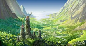 The Valley of the Wind, Nausicaa by Syntetyc