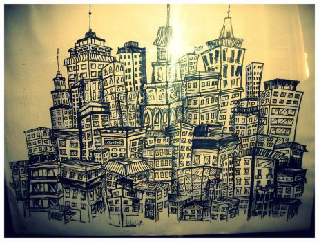 CityScape by FrenchHumorist