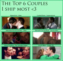 Top 6 Couples I ship most (updated) by cassidysmith15