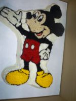 Mickey Mouse Cake by Robison300