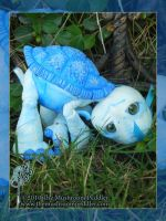 Shelly the Turtle Doll by TheMushroomPeddler