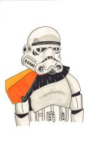 Storm Trooper being all storm troopy by kenny-powders