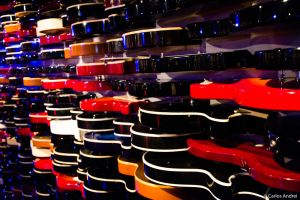 Hard Rock Cafe's guitars by andreibsc