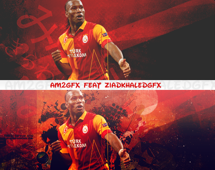 Drogba Collap AM2GF Feat ziadkhaledgfx by King2002