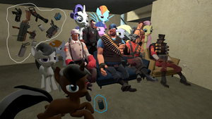 gmod - Almost time for pony by Stormbadger