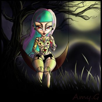 Night of dolls by saazshia