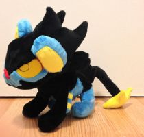 Pokemon - Luxray custom plush by Kitamon