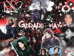 Gerard Way by depressed-messager