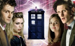 Doctor Rose e Clara2 by Ferrlm