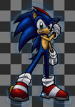 Sonic the Awesome by HeadShot-X