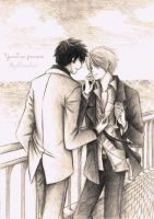 YunJae fanart by StrawberryNarchan