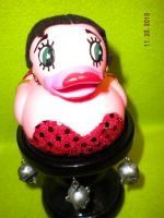 Betty Boop Rubber Duck by Oriana-X-Myst