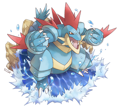 Mega Feraligatr by Tomycase
