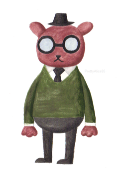 Angus (Night In The Woods) by PrettyAlice95