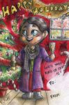 Happy Hannidays - What kind of party? by FuriarossaAndMimma