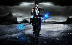 (ER) The witch of the wilds - Morrigan (+18) by IIReII