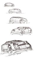 SUV sketches by daviddaylee