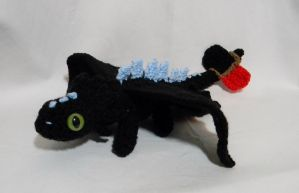 Alpha Toothless ami by gwilly-crochet