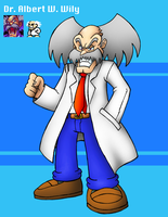 Dr. Albert W. Wily by SonicKnight007