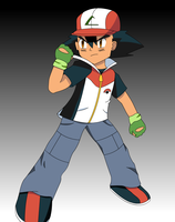 Ash Ketchum 6th Generation (Fan Made) by FinnAkira