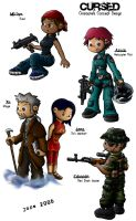 CURSED - Characters by Jops556