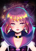 Sailor Saturn by ispan0w0