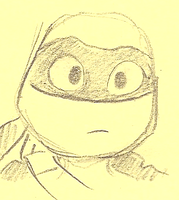 Donnie Post it Animation thingy by sharkie19