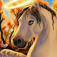 Heavensteed Painter Icon by thornwolf