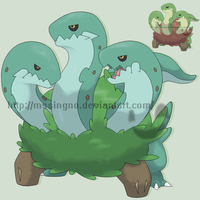 Grass Starter Serpentreo by mssingno