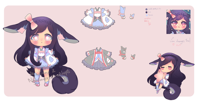 Plushgazer #1 Collab mixed species Adopt [CLOSED] by Madinne