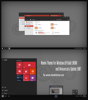 Numix Theme Windows10 Anniversary Update3 by Cleodesktop