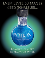 Potion Energy Drink Ad by Zenoc2