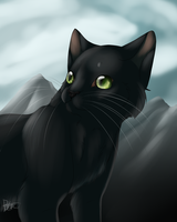 The New Prophecy - Smokepaw by BE-Arts