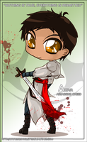 Assassins Creed - Lil Altair by RedViolett