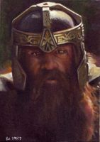 Gimli card 280 by charles-hall