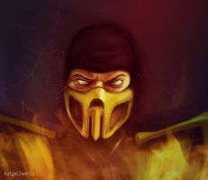 Scorpion by KatyaChee