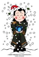 Xmas card - Loki by ChaosNDisaster