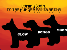 DARPG HGIV - PromotionalPoster - Glow, Bongo, Moon by TheChiefofTime