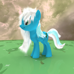 MLP Fluffy - Shiny Mint by VeryOldBrony