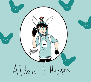 Aiden and Huggles by NGlumly