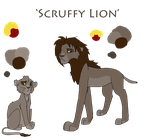 DT: Scruffy Lion! by Awesomesauce2014