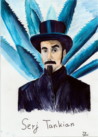 Serj Tankian by markers by Domisea