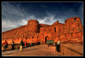 Agra Fort by johanishere