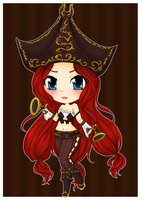 Miss Fortune Chibi - League of Legends by linkitty