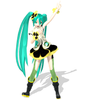 Project Diva Arcade Future Tone Hatsune miku Pansy by johnjan11