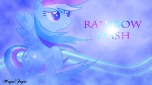 Rainbow Dash Wallpaper by MapaFapa