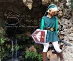 Green Link cosplay by smileys-4-eva