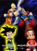 Pure Hearted Saiyan vs. Son of Krypton by Bearquarter2008