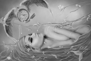 The undreamed of hours -White and black by Marazul45