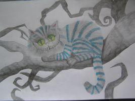 Cheshire Cat by LillyClaw